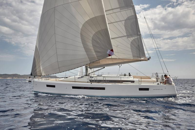 Sun Odyssey 490 │ Sun Odyssey Walk-Around of 14m │ Boat Sailboat Jeanneau  13348