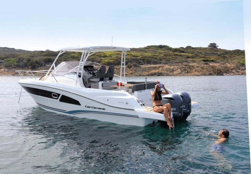 Cap Camarat 9.0 WA │ Cap Camarat Walk Around of 9m │ Boat Outboard Jeanneau  15101