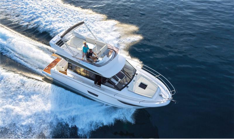 NC 38 Fly │ NC of 11m │ Boat Intra-borda Jeanneau  15064