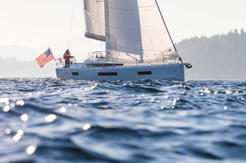 Sun Odyssey 440 │ Sun Odyssey de 13m │ Bateaux Voiliers Jeanneau 1-Navigation 15215