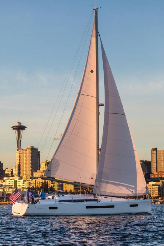Sun Odyssey 490 │ Sun Odyssey of 14m │ Boat Sailboat Jeanneau 1-Navigation 15236