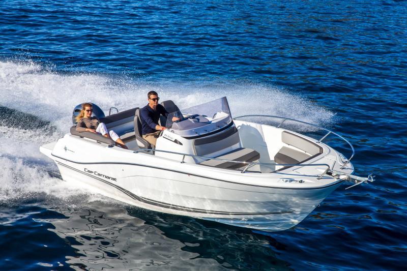 Cap Camarat 6.5 CC série3 │ Cap Camarat Center Console of 7m │ Boat Outboard Jeanneau  16186