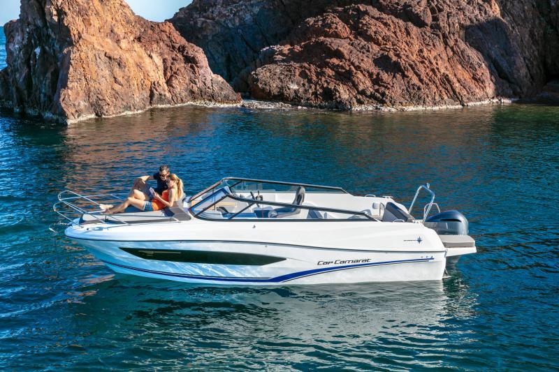 Cap Camarat 7.5 DC série 2 │ Cap Camarat Day Cruiser of 7m │ Boat Außenbord Jeanneau  15998