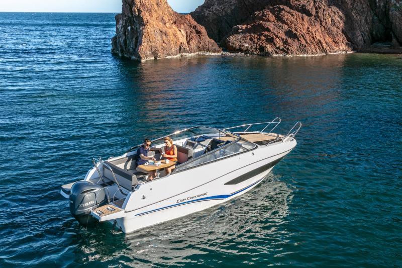 Cap Camarat 7.5 DC série 2 │ Cap Camarat Day Cruiser of 7m │ Boat Außenbord Jeanneau  15999