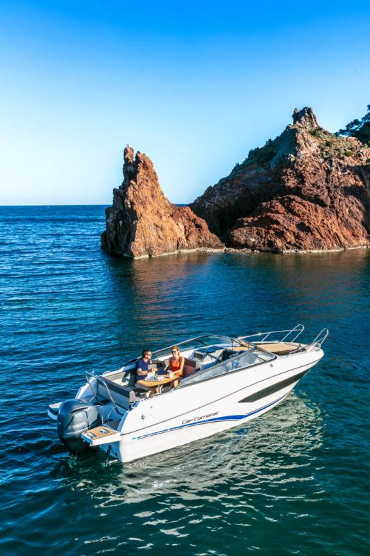 Cap Camarat 7.5 DC série 2 │ Cap Camarat Day Cruiser of 7m │ Boat Außenbord Jeanneau  16002