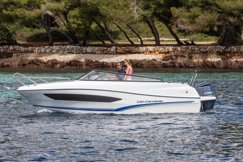 Cap Camarat 7.5 DC série 2 │ Cap Camarat Day Cruiser of 7m │ Boat Außenbord Jeanneau  15997