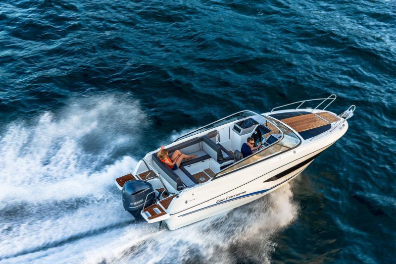 Cap Camarat 7.5 DC série 2 │ Cap Camarat Day Cruiser of 7m │ Boat Außenbord Jeanneau  15992