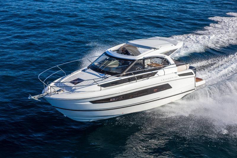 Leader 33 │ Leader de 11m │ Bateaux In Bord Jeanneau Version Hors-Bord 16705