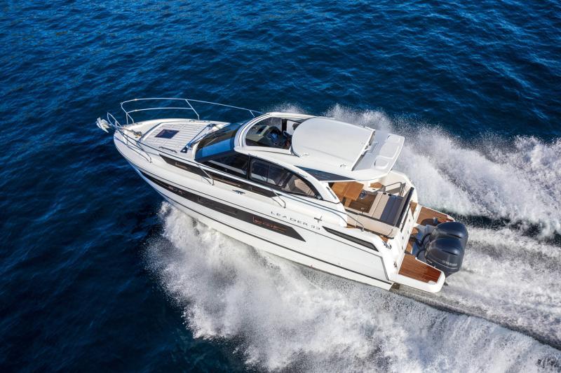 Leader 33 │ Leader de 11m │ Bateaux In Bord Jeanneau Version Hors-Bord 16707