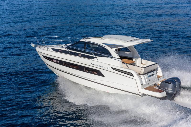 Leader 33 │ Leader de 11m │ Bateaux In Bord Jeanneau Version Hors-Bord 16706