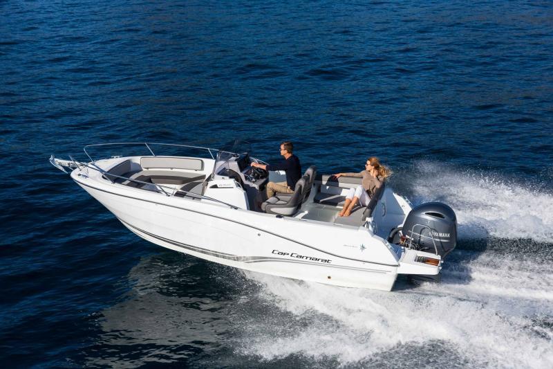 Cap Camarat 6.5 CC série3 │ Cap Camarat Center Console of 7m │ Boat Outboard Jeanneau  16197