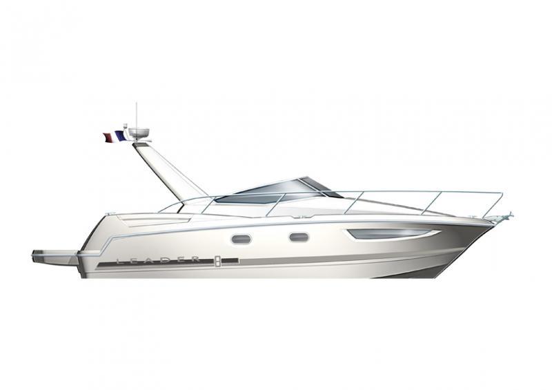 Leader 8 │ Leader of 9m │ Boat powerboat Jeanneau boat Leader-Leader8 173