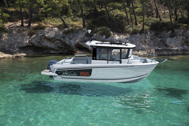 Merry Fisher 695 Marlin série2 │ Merry Fisher Marlin of 7m │ Boat powerboat Jeanneau  20060