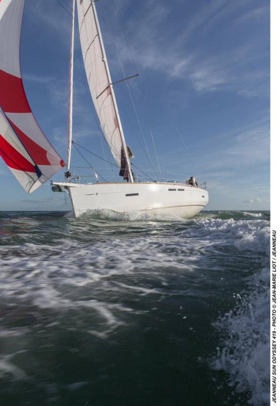 Sun Odyssey 419 │ Sun Odyssey of 13m │ Boat Veleros Jeanneau  19367
