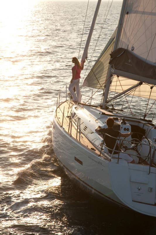 Sun Odyssey 419 │ Sun Odyssey of 13m │ Boat Veleros Jeanneau  19385