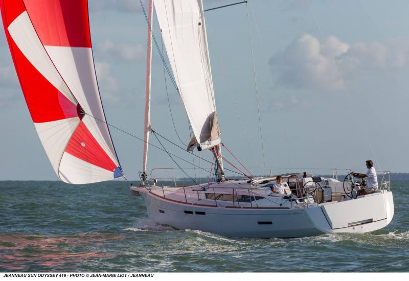 Sun Odyssey 419 │ Sun Odyssey of 13m │ Boat Yelkenli̇ Jeanneau  19361