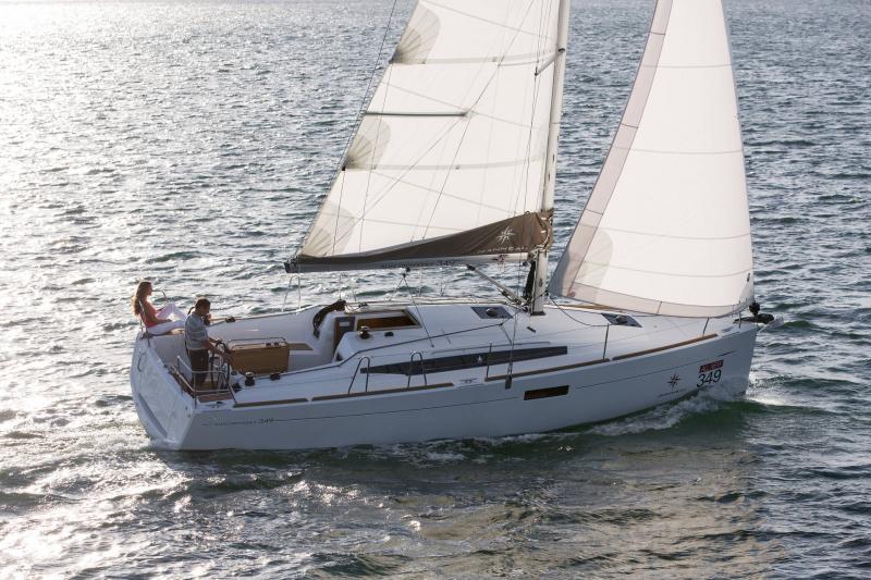 Sun Odyssey 349 │ Sun Odyssey de 10m │ Bateaux Voiliers Jeanneau  19148