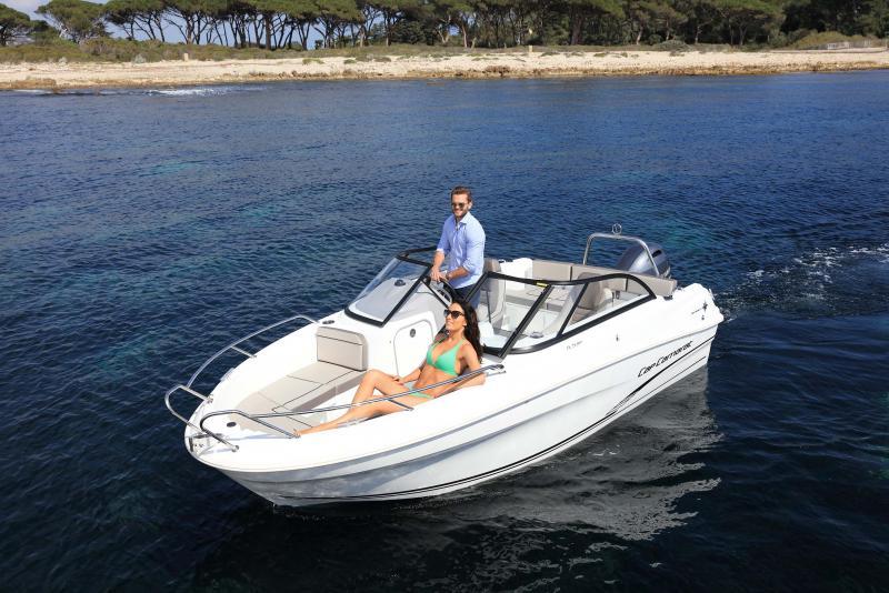 CAP CAMARAT 5.5 BR │ Cap Camarat Bow Rider of 5m │ Boat powerboat Jeanneau CAP CAMARAT 5.5 BR 4826