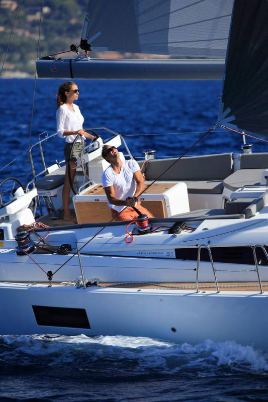 Jeanneau Yachts 51 │ Jeanneau Yachts de 15m │ Bateaux Voiliers Jeanneau  17384