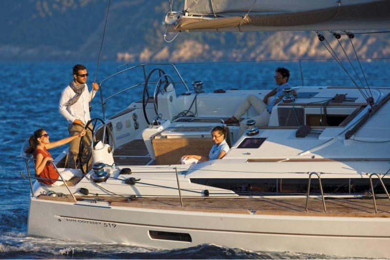 Sun Odyssey 519 │ Sun Odyssey of 16m │ Boat Segelboote Jeanneau  19786