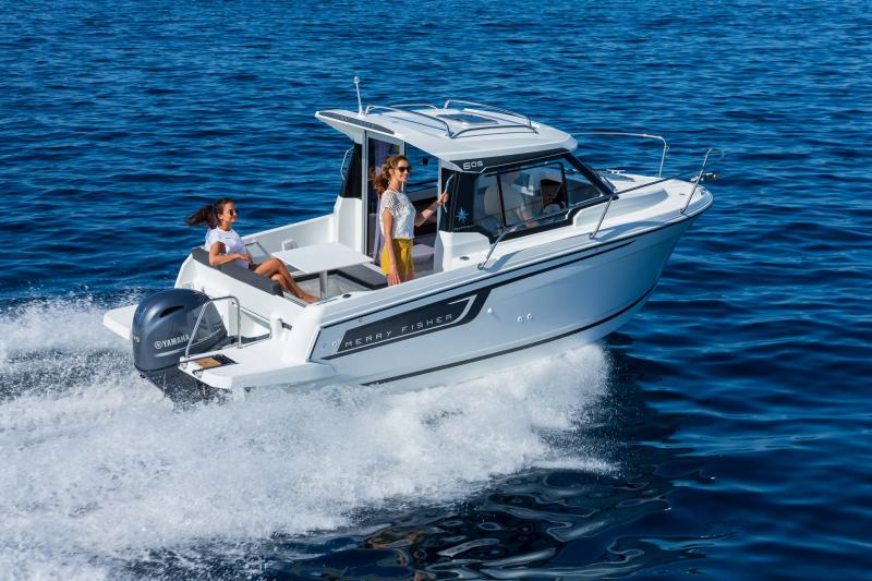 Merry Fisher 605 série2 │ Merry Fisher of 6m │ Boat powerboat Jeanneau  23443