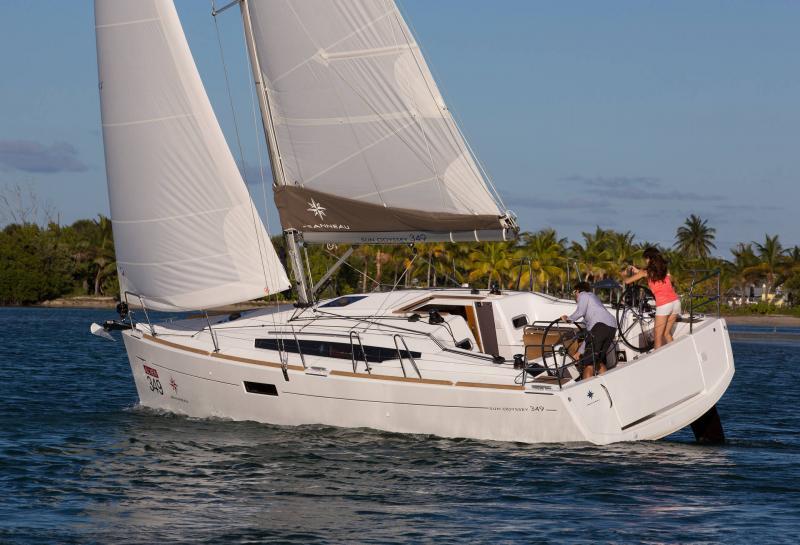 Sun Odyssey 349 │ Sun Odyssey of 10m │ Boat Sailboat Jeanneau  19140