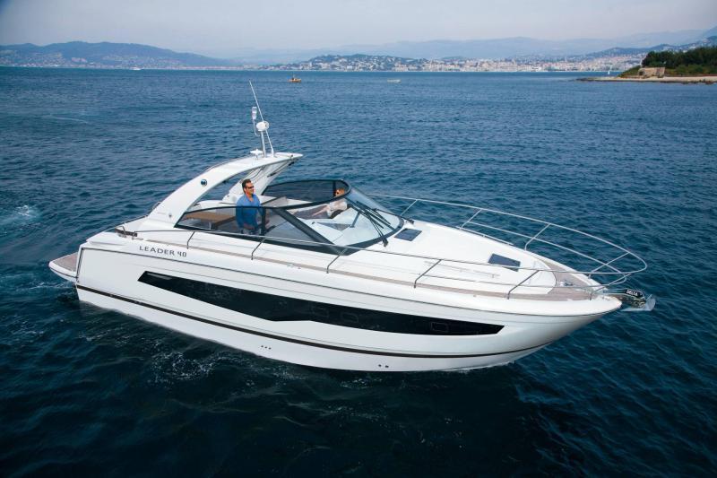 Leader 40 │ Leader of 12m │ Boat Intra-borda Jeanneau  19985