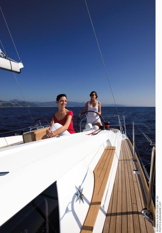 Sun Odyssey 44 DS │ Sun Odyssey DS of 13m │ Boat Sailboat Jeanneau boat Sun-Odyssey-DS-44DS 378