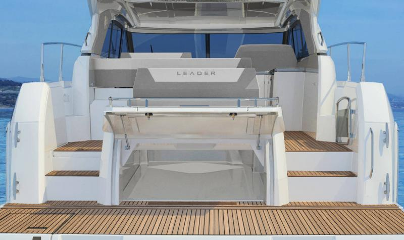 Leader 46 │ Leader of 14m │ Boat powerboat Jeanneau Aft Platform 18471