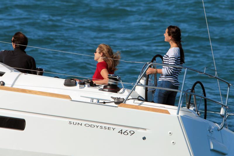 Sun Odyssey 469 Vues d'extérieur 20
