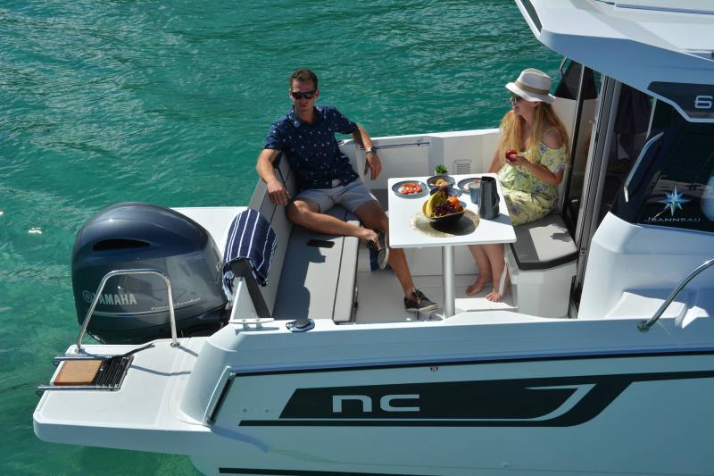 NC 695 Series 2 │ NC Weekender of 7m │ Boat powerboat Jeanneau  21025