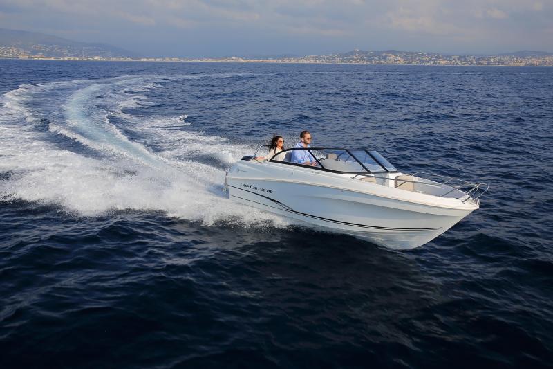 CAP CAMARAT 5.5 BR │ Cap Camarat Bow Rider of 5m │ Boat powerboat Jeanneau CAP CAMARAT 5.5 BR 4839