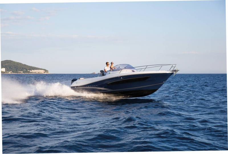 Leader 7.5 │ Leader WA of 8m │ Boat powerboat Jeanneau  18763