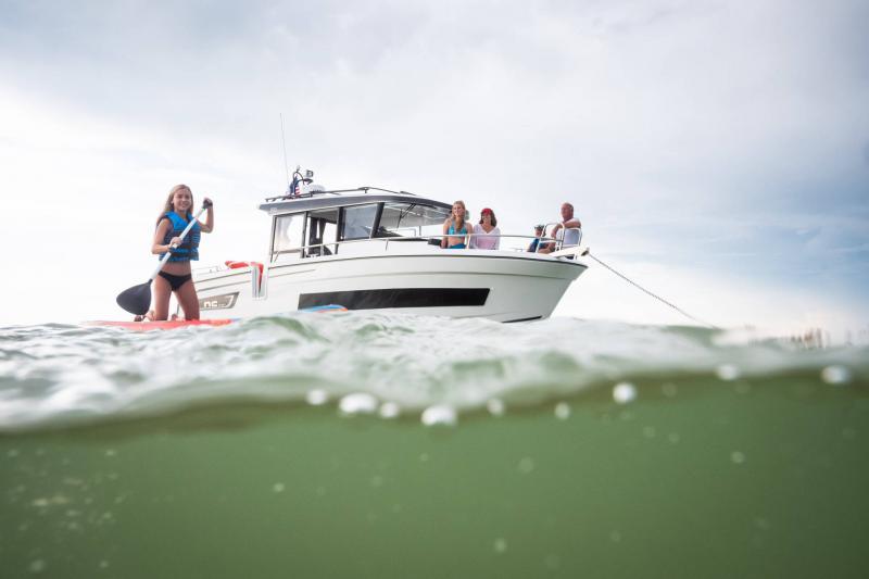 NC 895 Sport │ NC Sport of 9m │ Boat Outboard Jeanneau  18992