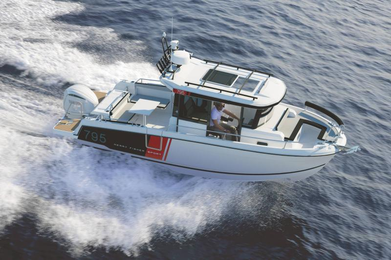Merry Fisher 795 Sport Série2 │ Merry Fisher Sport of 7m │ Boat powerboat Jeanneau  23153
