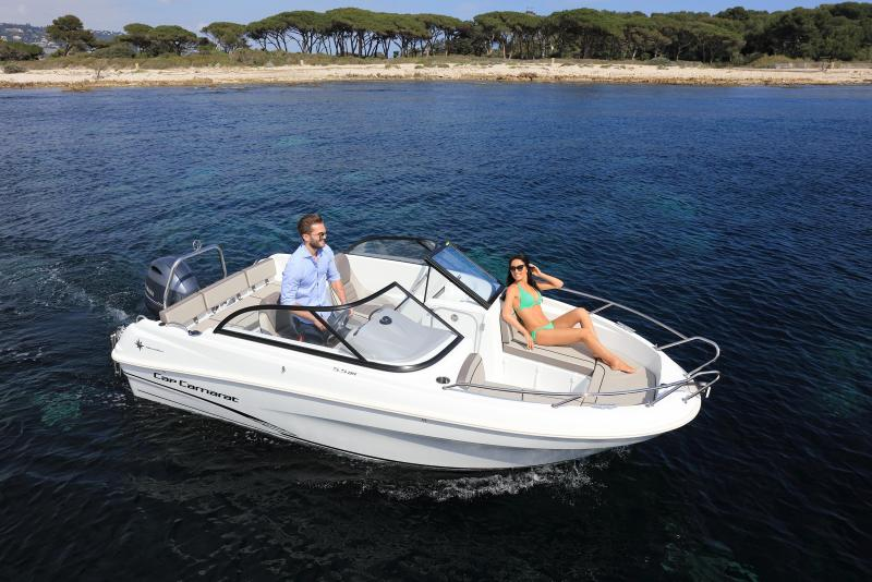 CAP CAMARAT 5.5 BR │ Cap Camarat Bow Rider of 5m │ Boat Outboard Jeanneau CAP CAMARAT 5.5 BR 4825