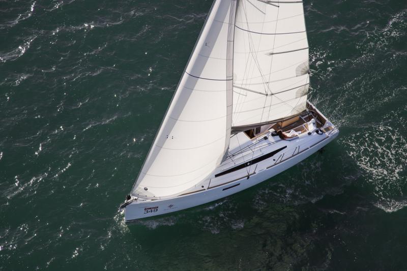 Sun Odyssey 349 │ Sun Odyssey of 10m │ Boat Veleros Jeanneau barco Sun-Odyssey-349 1111
