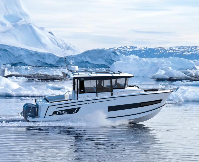 NC 895 Sport │ NC Sport of 9m │ Boat Outboard Jeanneau  18997