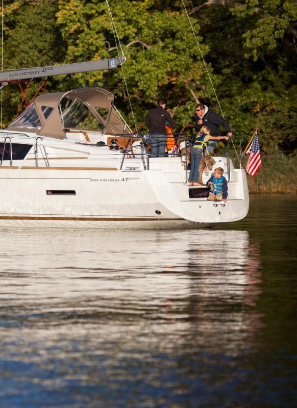 Sun Odyssey 41 DS │ Sun Odyssey DS of 12m │ Boat Sailboat Jeanneau boat Sun-Odyssey-DS-41DS 369