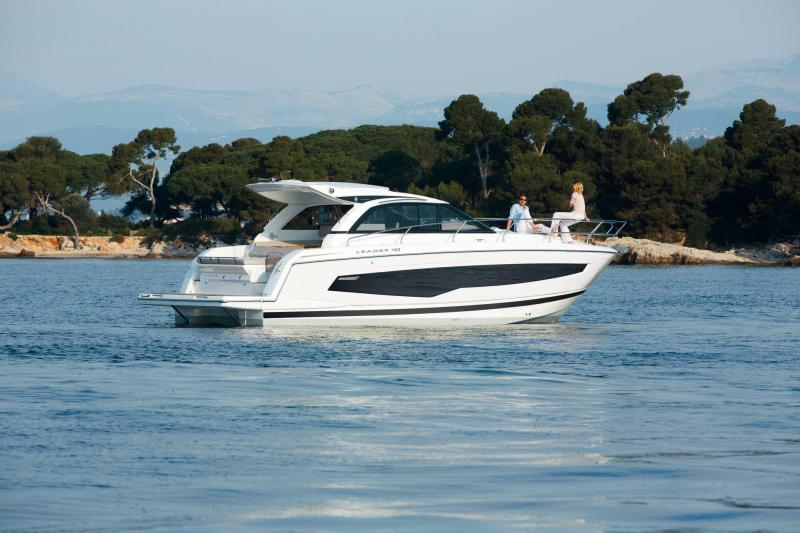 Leader 40 │ Leader of 12m │ Boat powerboat Jeanneau  20022