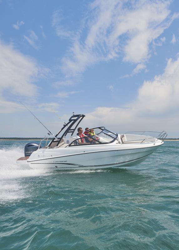 CAP CAMARAT 6.5 BR │ Cap Camarat Bow Rider of 6m │ Boat powerboat Jeanneau CAP CAMARAT 6.5 BR 3038