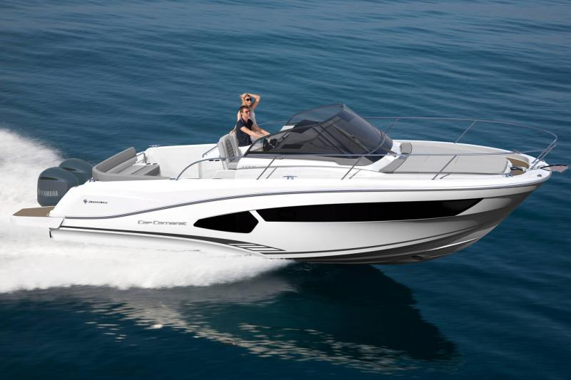 Cap Camarat 10.5 WA │ Cap Camarat Walk Around of 11m │ Boat Outboard Jeanneau 3/4 back 17154