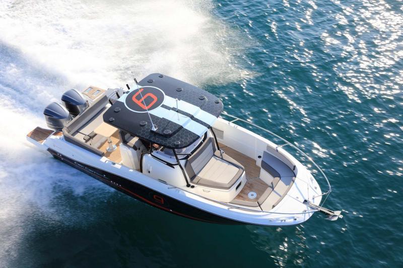 Cap Camarat 9.0 CC │ Cap Camarat Center Console of 9m │ Boat powerboat Jeanneau Cap Camarat 9.0 CC 11539
