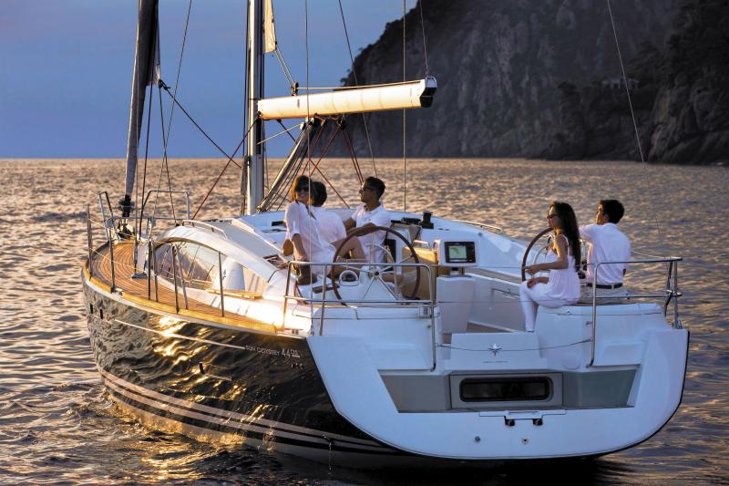 Sun Odyssey 44 DS │ Sun Odyssey DS of 13m │ Boat Sailboat Jeanneau boat Sun-Odyssey-DS-44DS 377