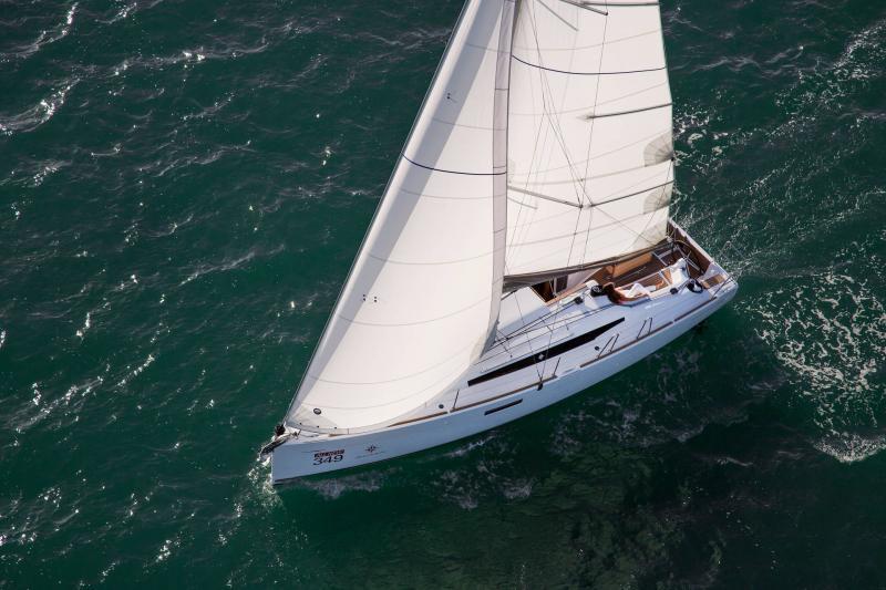 Sun Odyssey 349 │ Sun Odyssey of 10m │ Boat Sailboat Jeanneau  19150