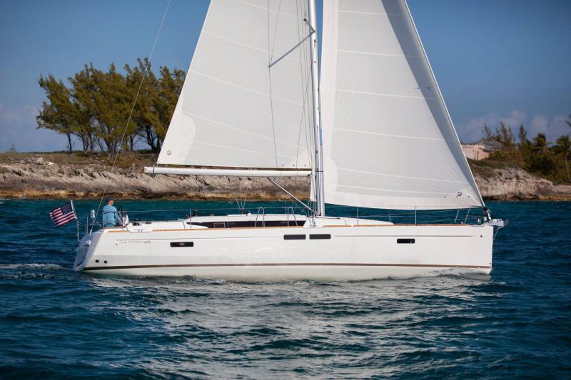 Sun Odyssey 479 │ Sun Odyssey of 14m │ Boat Veleros Jeanneau  19574