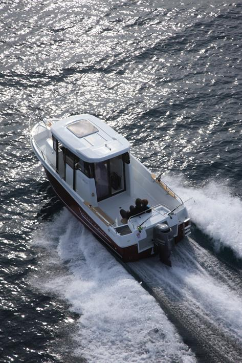 Merry Fisher 755 Marlin │ Merry Fisher Marlin of 7m │ Boat powerboat Jeanneau boat Merry-Fisher-755-marlin 3