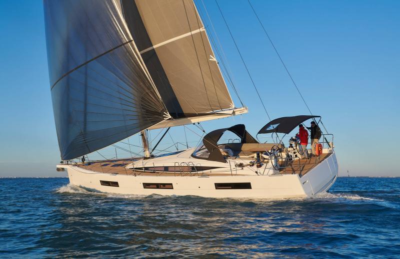 Jeanneau Yachts 60 │ Jeanneau Yachts of 18m │ Boat Sailboat Jeanneau 3/4 back 22549