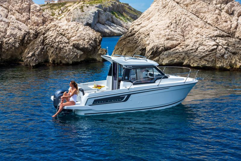 Merry Fisher 605 série2 │ Merry Fisher of 6m │ Boat powerboat Jeanneau  23448