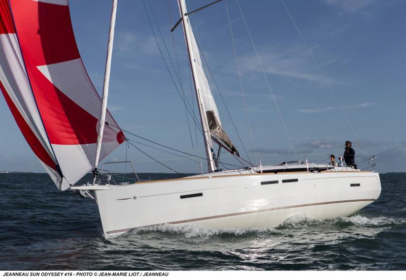 Sun Odyssey 419 │ Sun Odyssey de 13m │ Bateaux Voiliers Jeanneau  19363